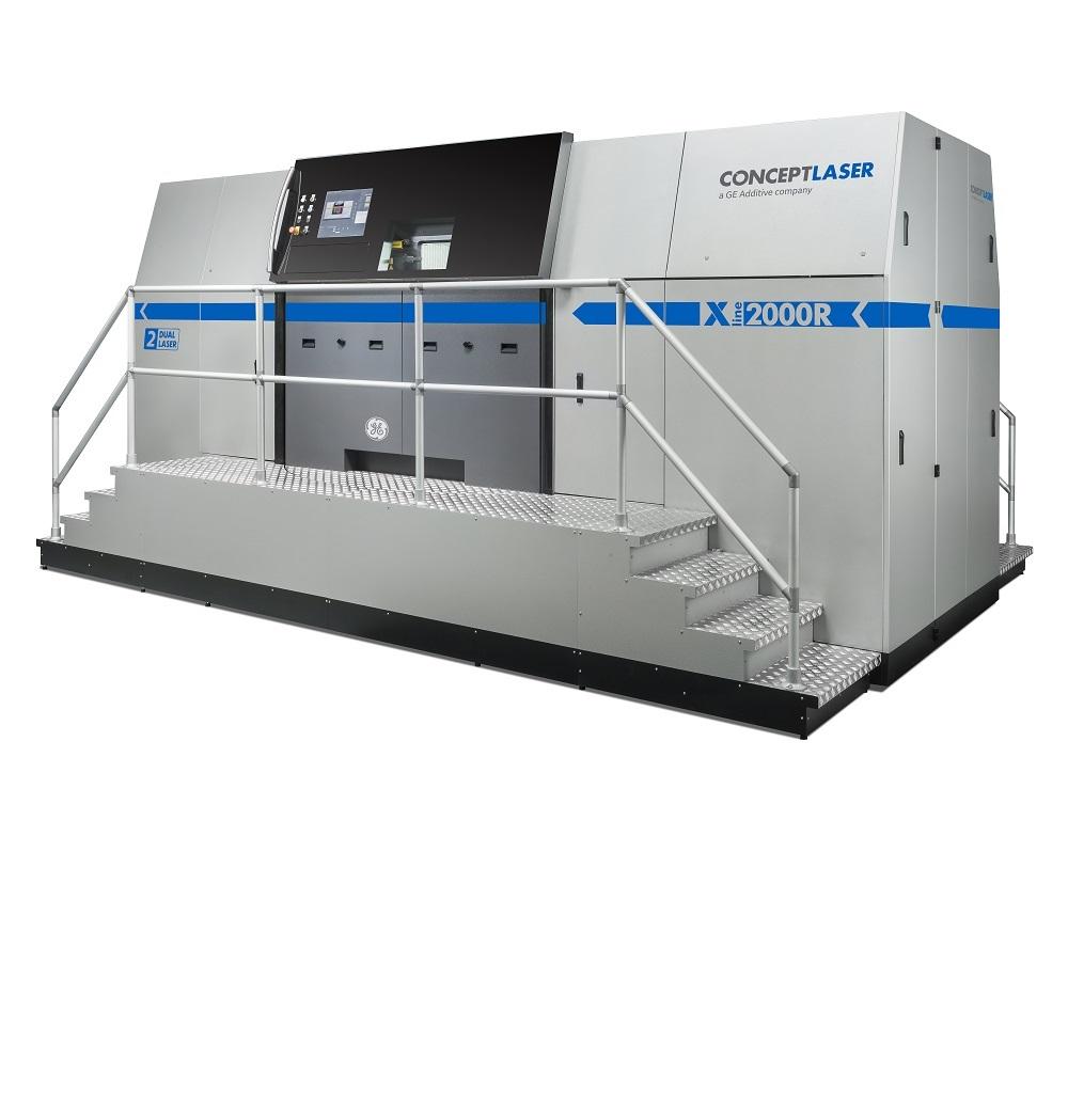 x line 2000r dmlm machine ge additive