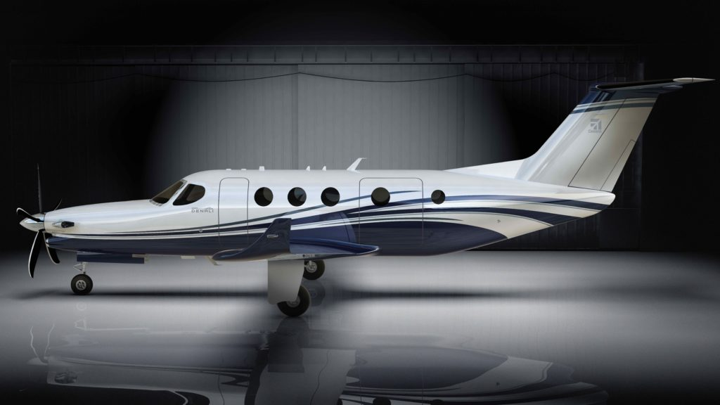 The unveiling of the Cessna Denali propellor plane with a 3D-printed turboprop engine