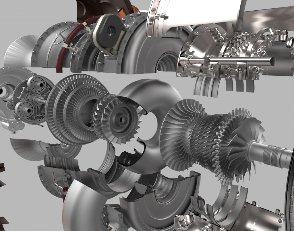 The GE Catalyst 3D-printed turboprop engine