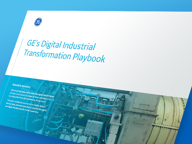 Digital Industrial Transformation Playbook