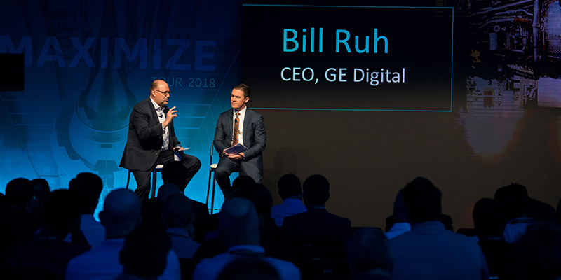 Bill Ruh, GE Digital CEO, at Maximize 2018 presented by ServiceMax