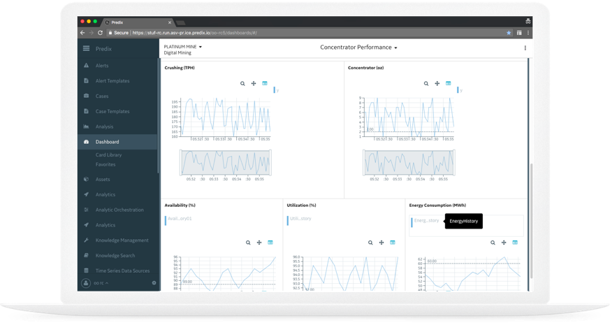 Screenshot: Operations Performance Management enables industrial organizations to increase revenue and margins by optimizing the performance and throughput of plants, sites, and portfolio.