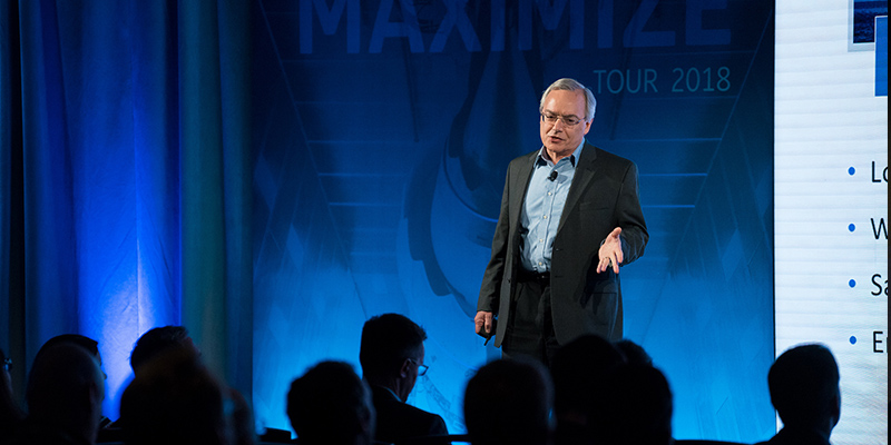 Ralph Rio, ARC Advisory Group, at Maximize presented by ServiceMax from GE Digital