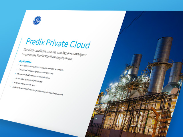 Predix Private Cloud white paper