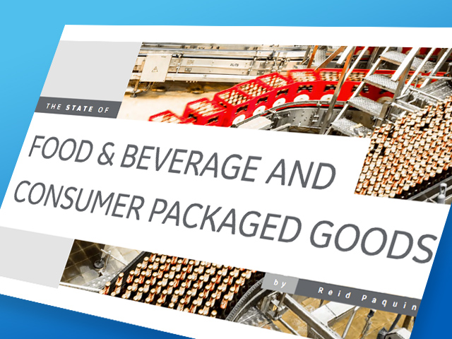 State of Food and Beverage | GE Digital White paper | thumbnail