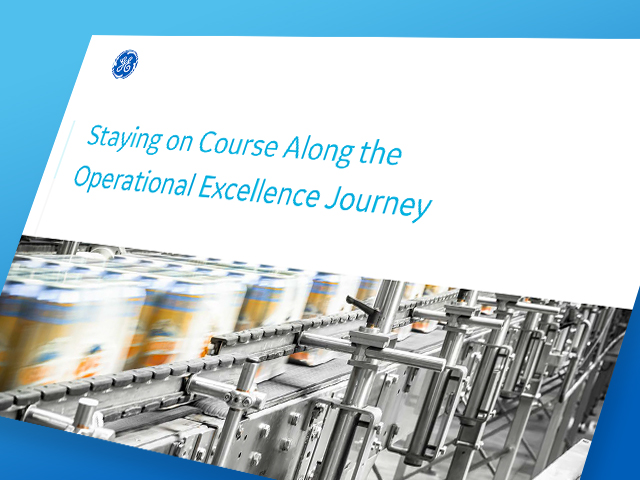 Staying the course along the operational excellence journey | thumbnail | GE Digital