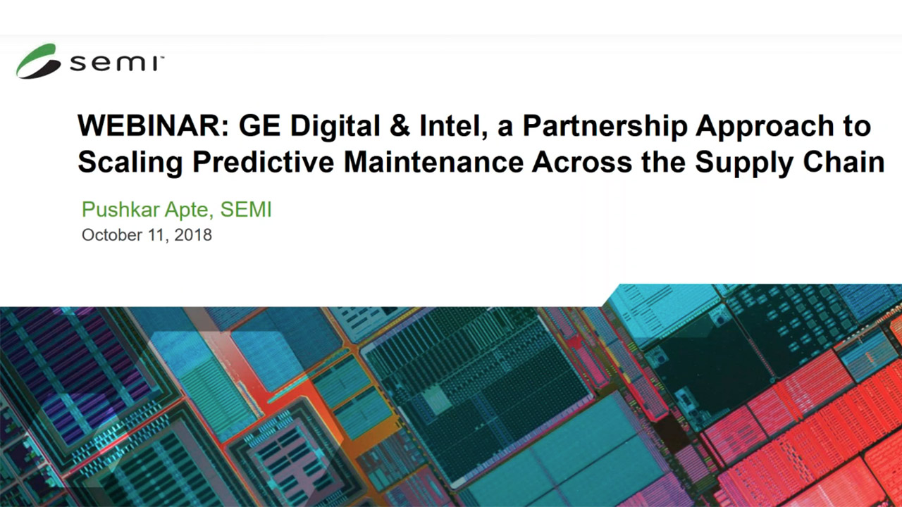 Webcast | GE and Intel | Semiconductor