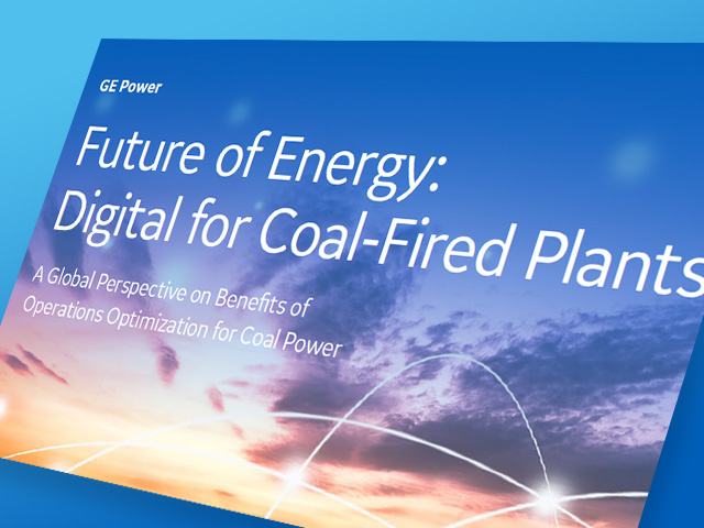 Future of Energy: Digital for Coal-Fired Plants | GE Digital white paper
