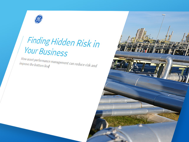Finding Hidden Risk | GE Digital White paper | Asset Performance Management