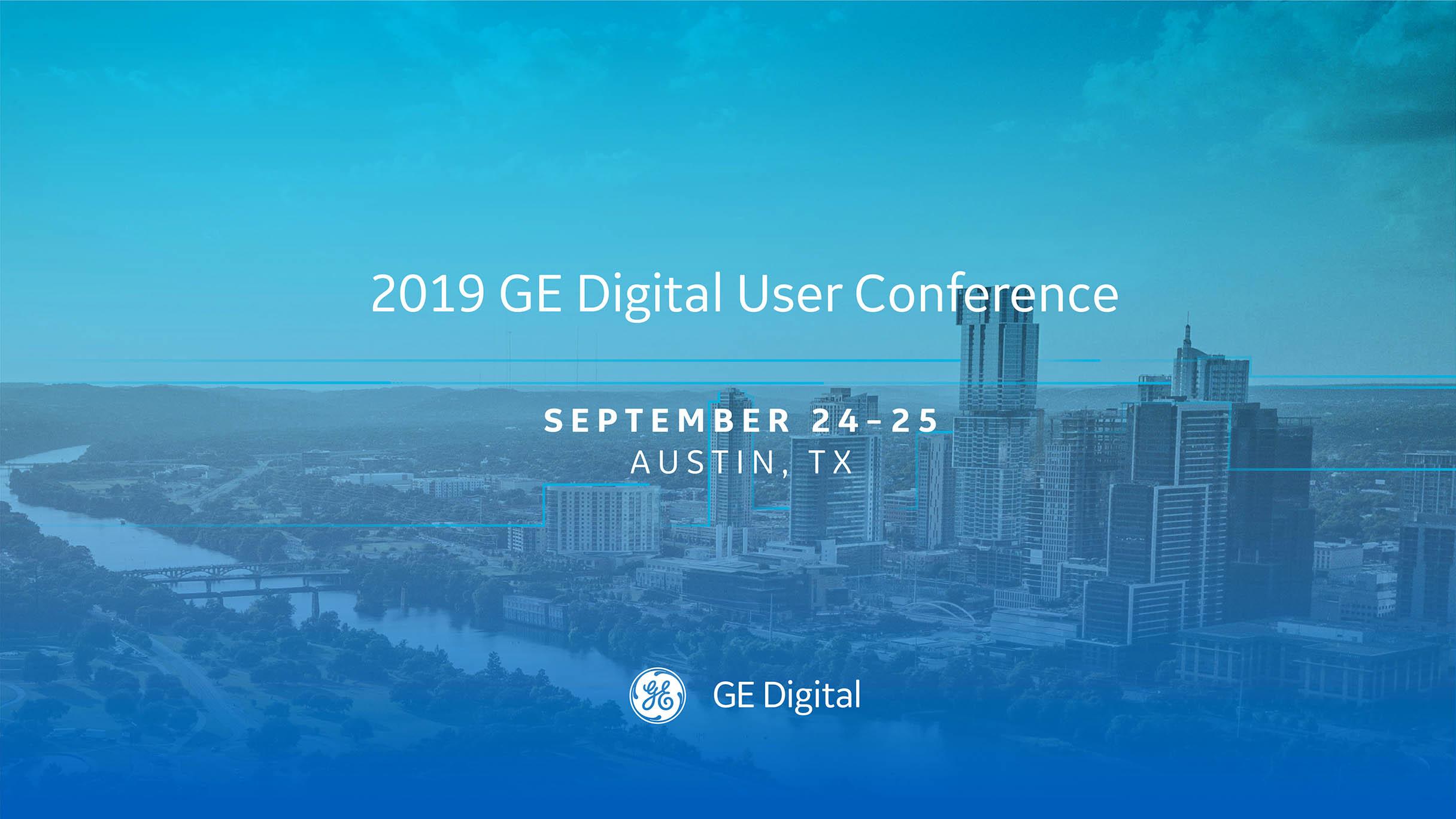 GE Digital User Conference | 2019