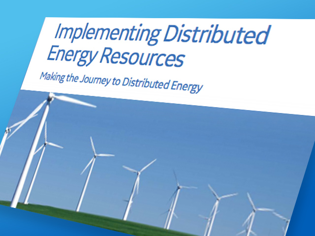 Implementing Distributed Energy Resources - white paper thumbnail