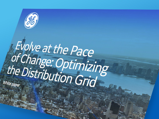 Optimizing the Distribution Grid | White paper | GE Digital