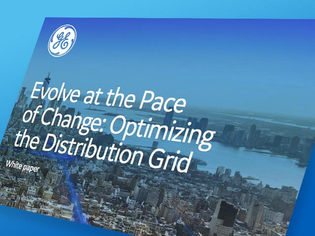 Optimizing the Distribution Grid | White paper | GE Digital