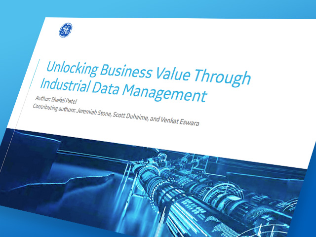 Unlocking Business Value | GE Digital white paper