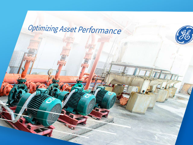 Optimizing Asset Performance | ebook thumbnail | GE Digital