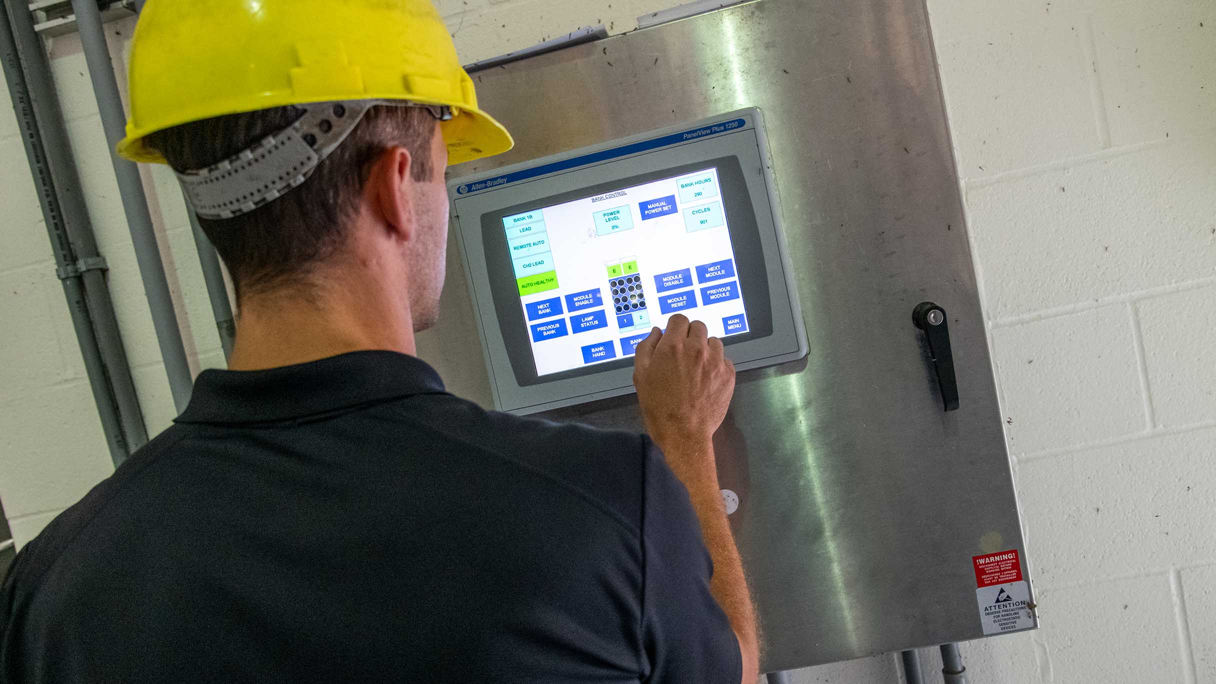 Bloomington-Normal wastewater treatment plant | GE Digital SCADA customer