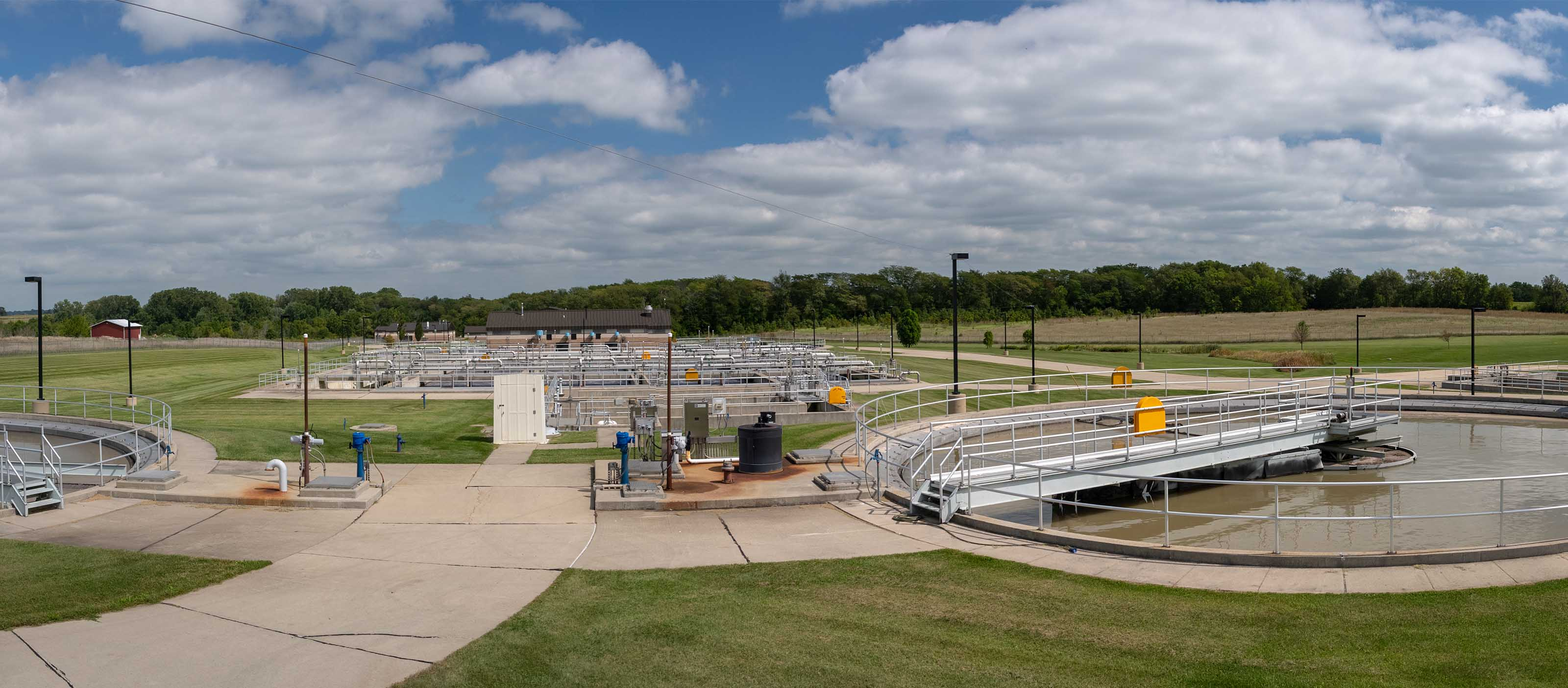 Bloomington-Normal Wastewater Treatment Plant using GE Digital Software