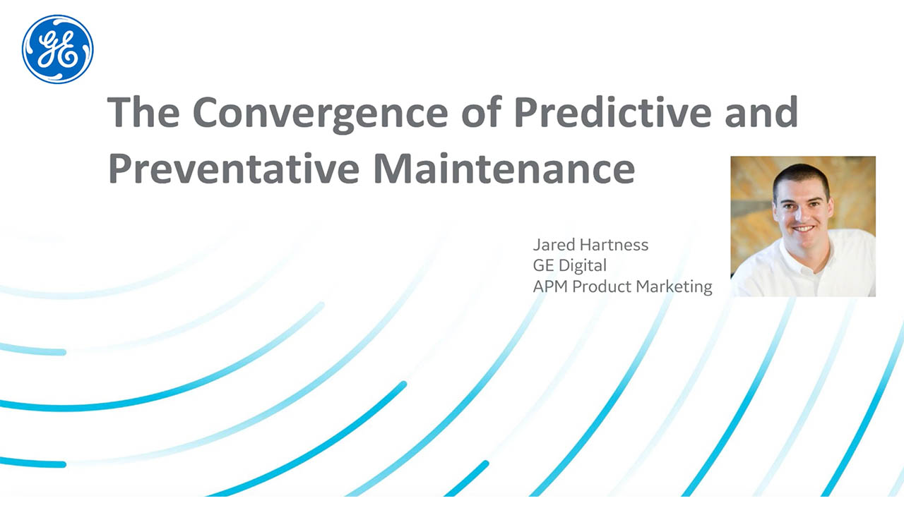 Convergence of predictive and preventative maintenance | Tech Talk video