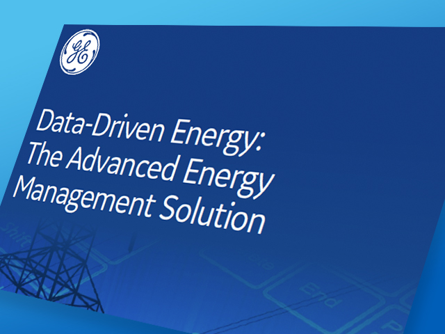 Data-Driven Energy: The Advanced Energy Management Solution | GE Digital | White paper