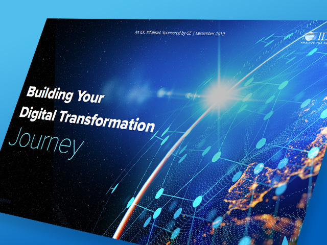 IDC | Building Your Digital Transformation Journey | GE Digital