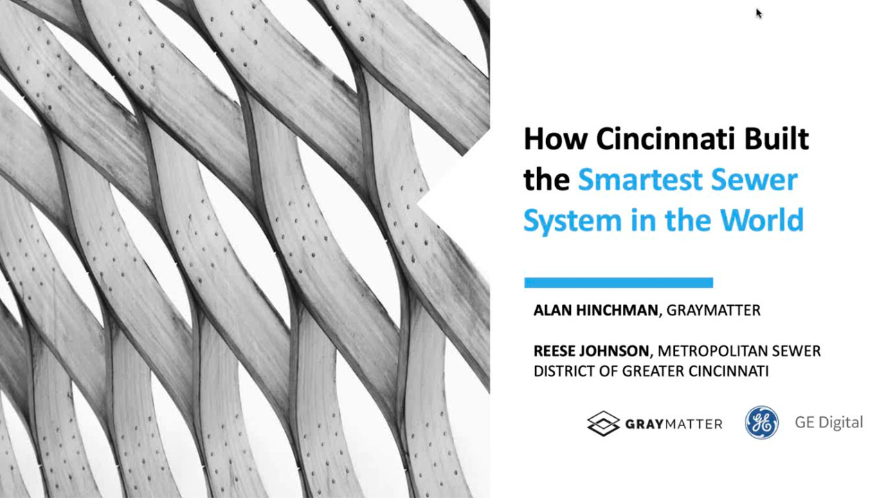 How Cincinnati Built the Smartest Sewer System in the World | Webinar