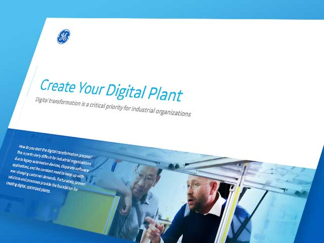 Create Your Digital Plant | White Paper | GE Digital