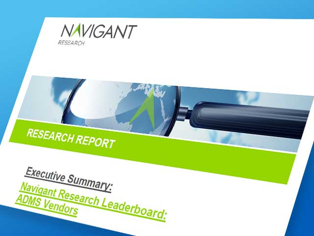 Navigant Research Leaderboard Report: ADMS