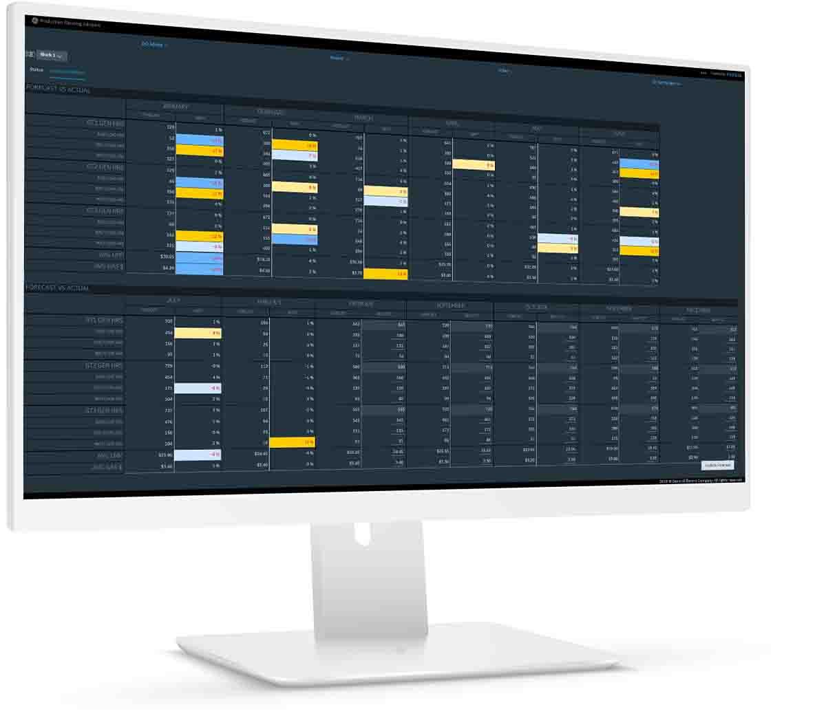 OPM for Power Generators   software screenshot   GE Digital