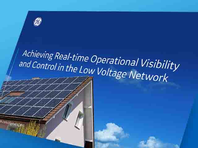 Achieving Real-time Operational Visibility and Control in the Low Voltage Network