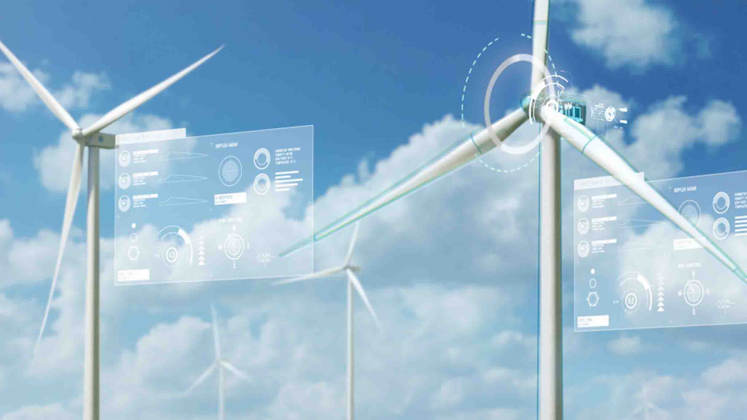 GE Digital software provide predictive analytics to maintain uptime of wind farms