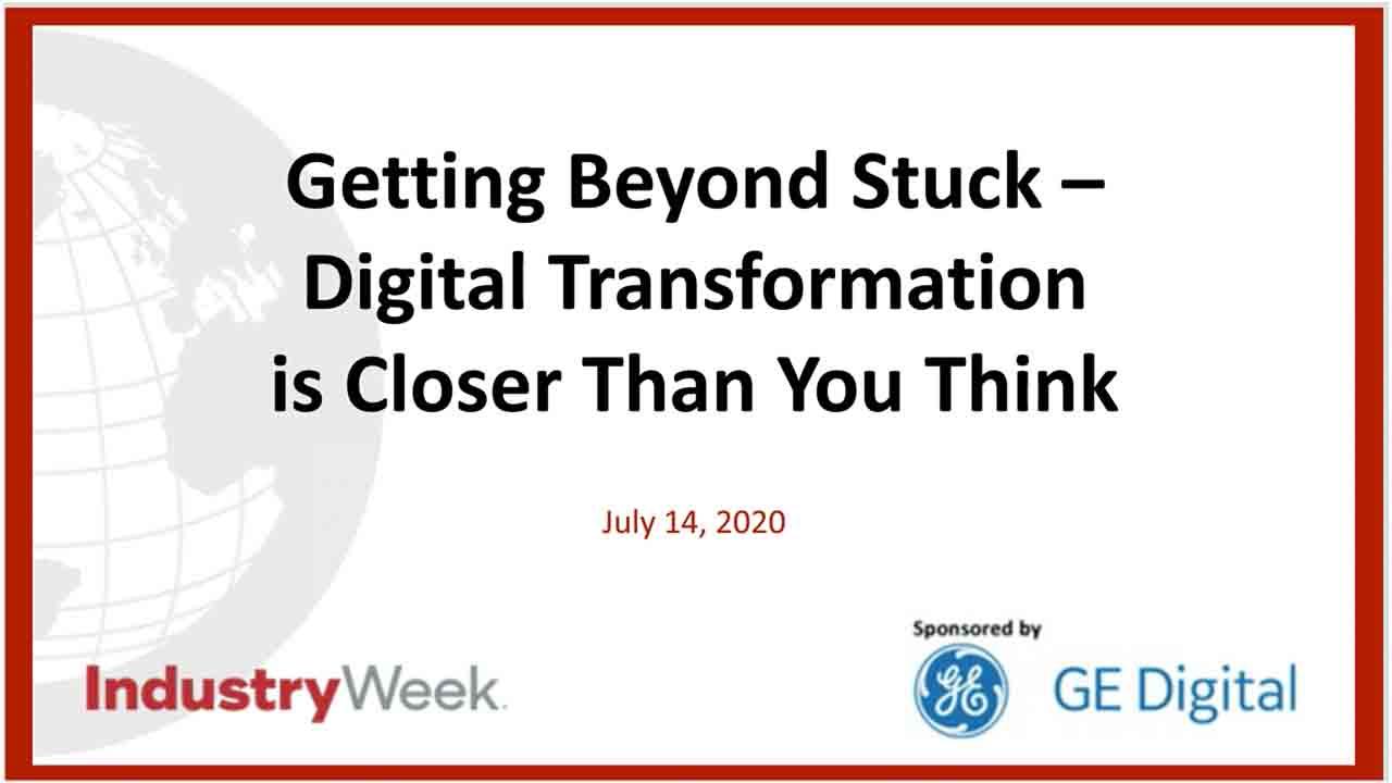 Webinar: Digital Transformation is closer than you think