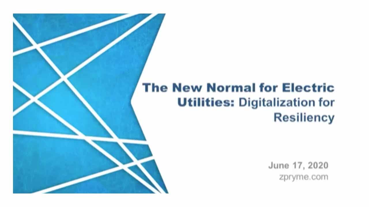 Digitization for Resiliency | Webinar for Utilities | GE Digital