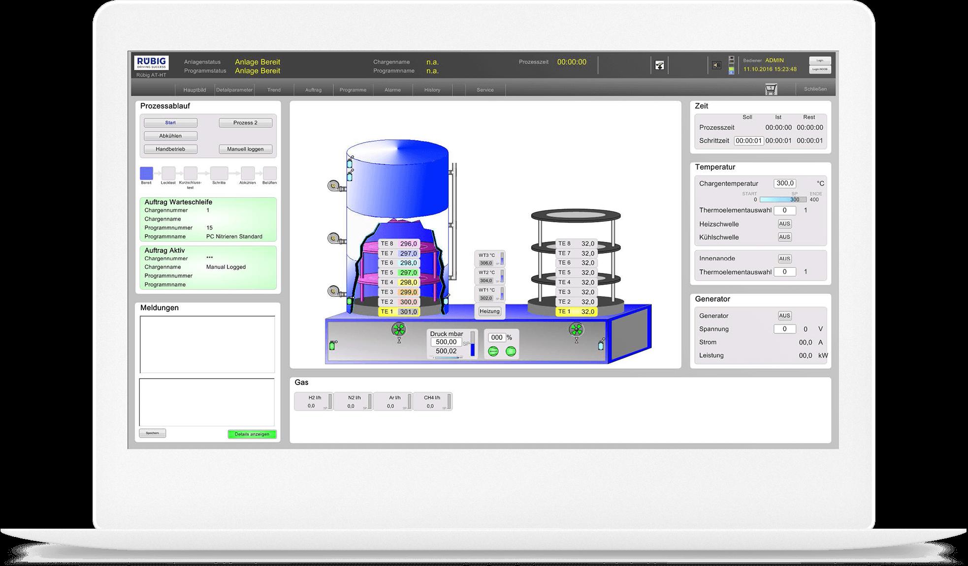 CIMPLICITY HMI/SCADA Provides Plant-Wide Visualization | Screenshot | GE Digital