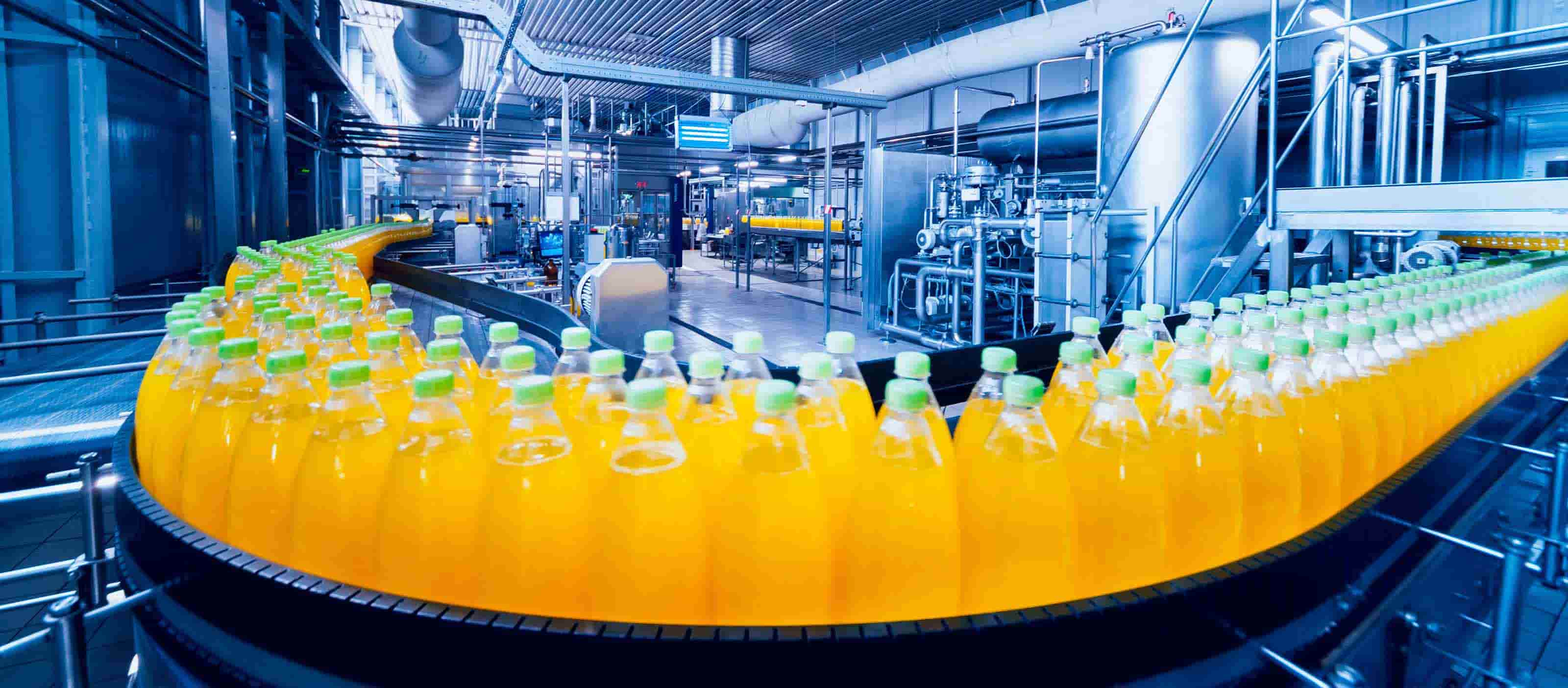GE Digital MES software helps food and beverage manufacturers manage OEE
