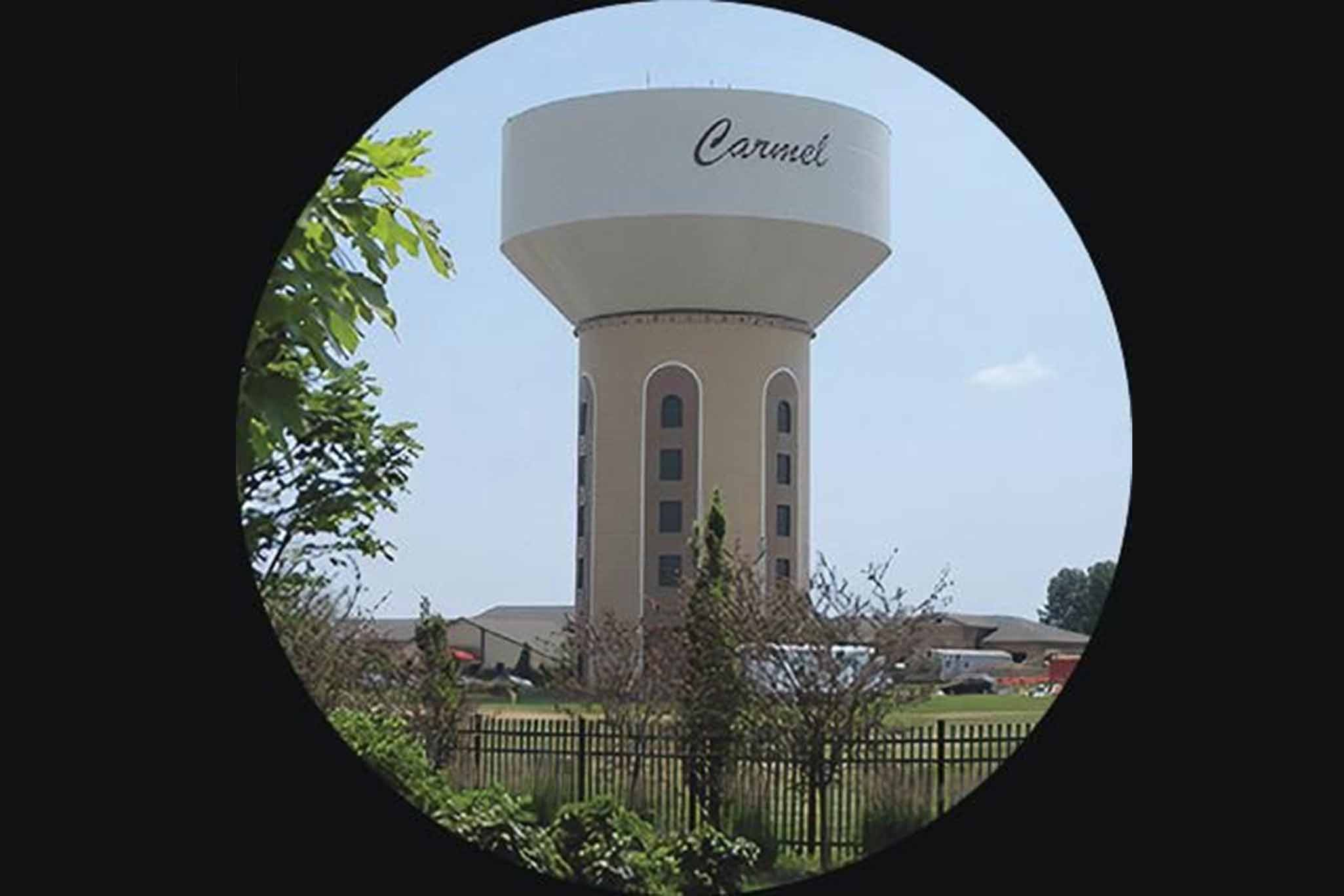 City of Caramel | Water tower |