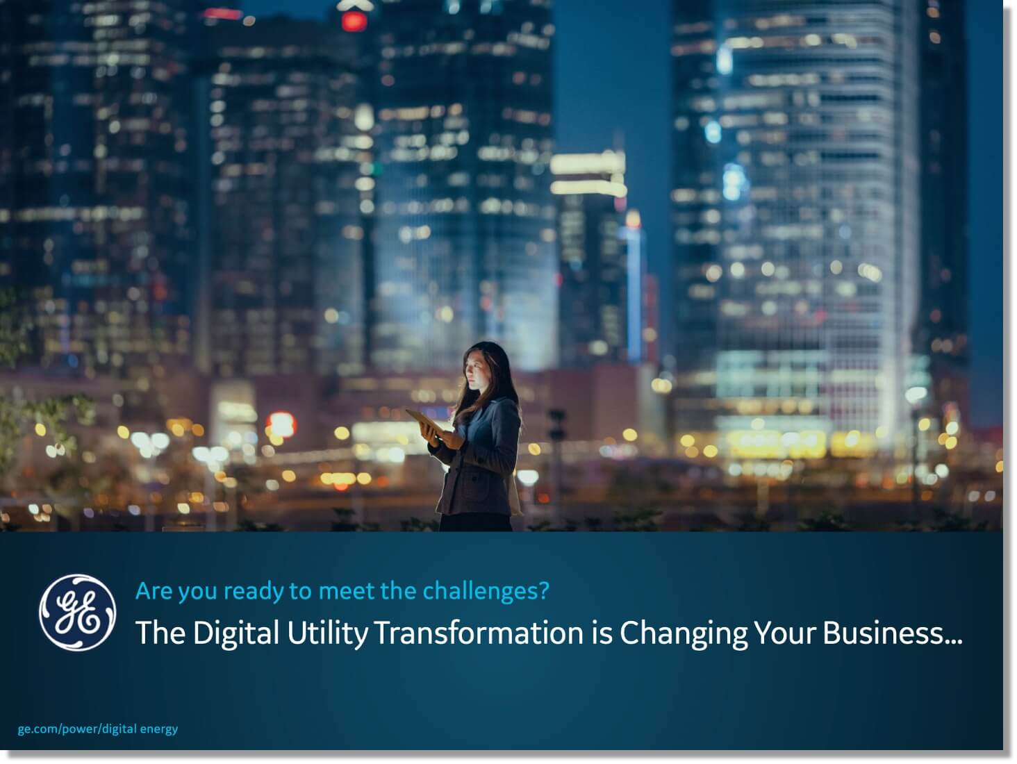 Digital Utility Transformation is changing business | GE Digital white paper