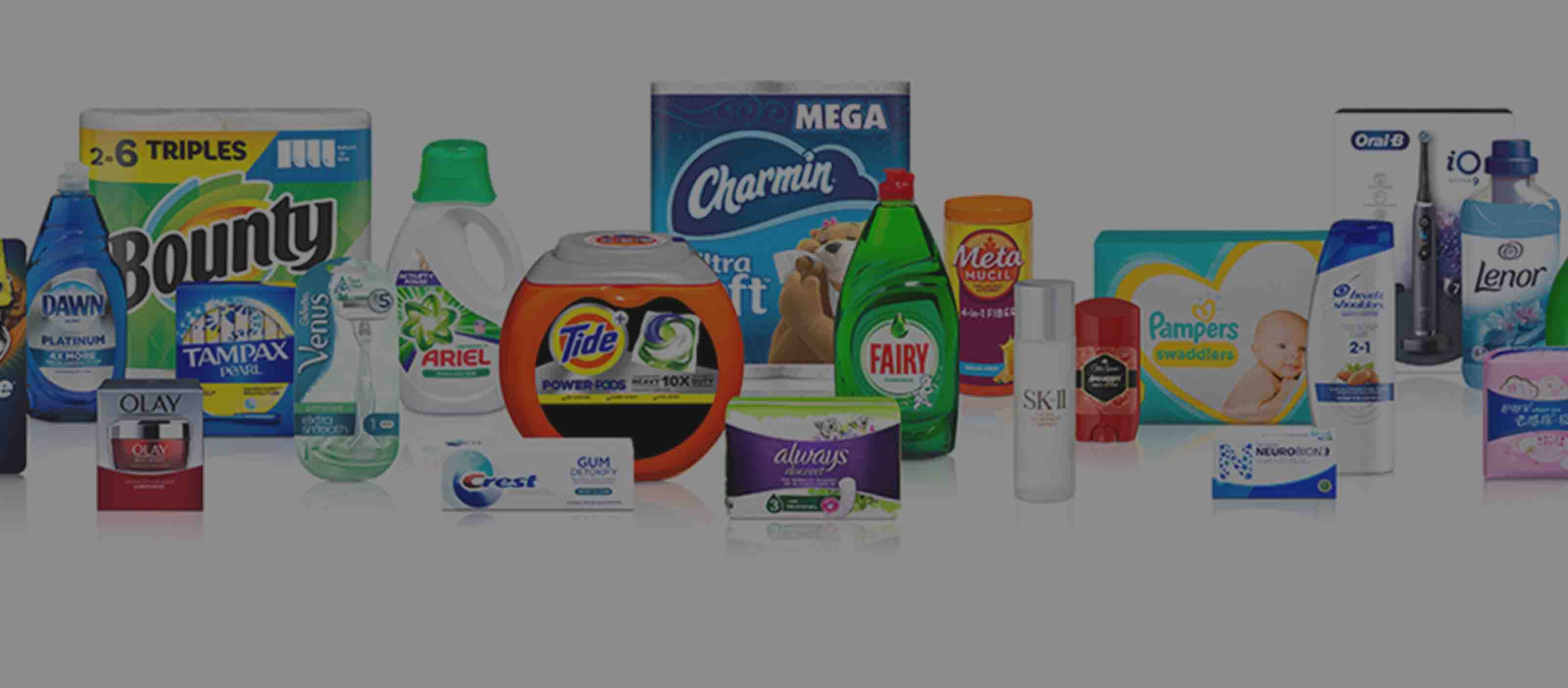 Products manufactured by Procter & Gamble | P&G uses Proficy software in manufacturing