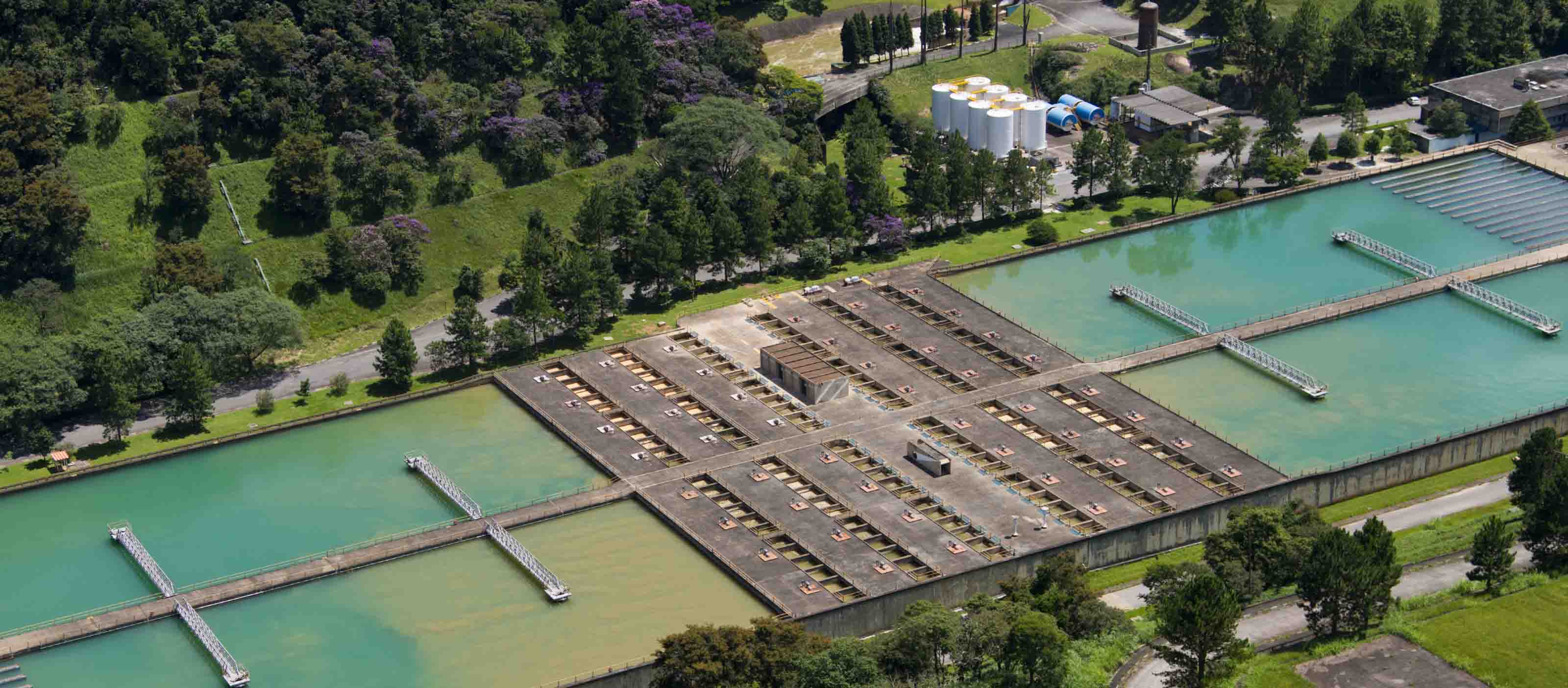 Water treatment facility in Brazil   GE Digital software helps Sabesp monitor water
