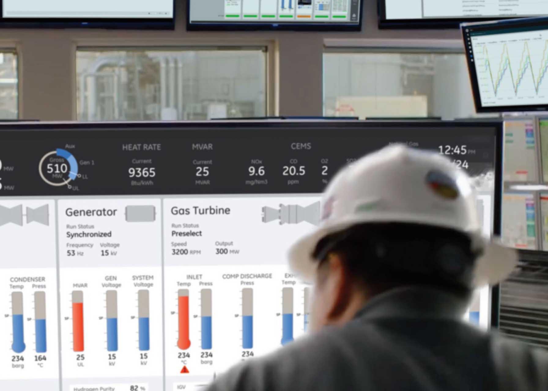 Control Room | HMI/SCADA software in action | GE Digital