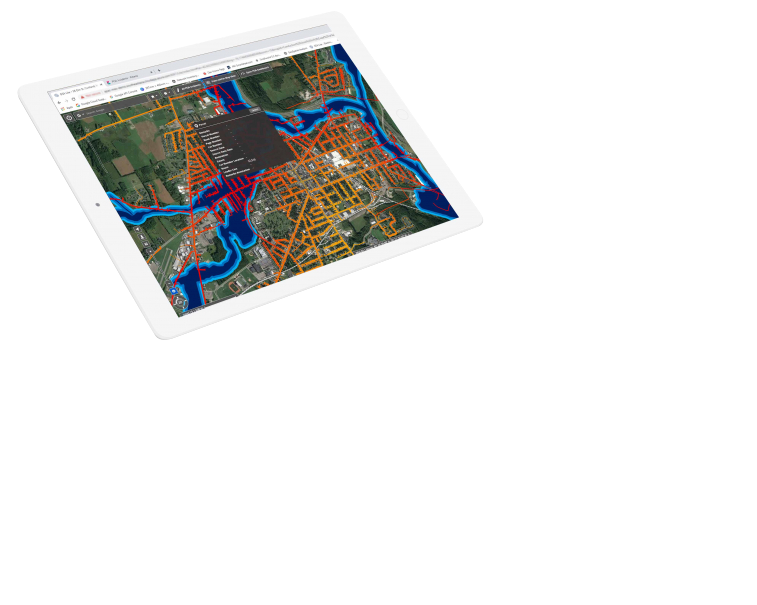 Geospatial information system screenshot | GE Digital | Smallworld GIS