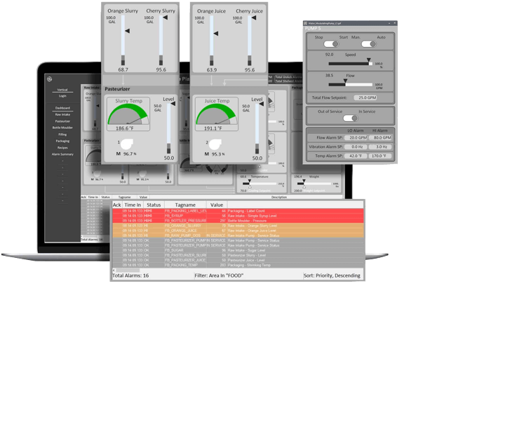 iFIX HMI/SCADA software from GE Digital | Screenshot
