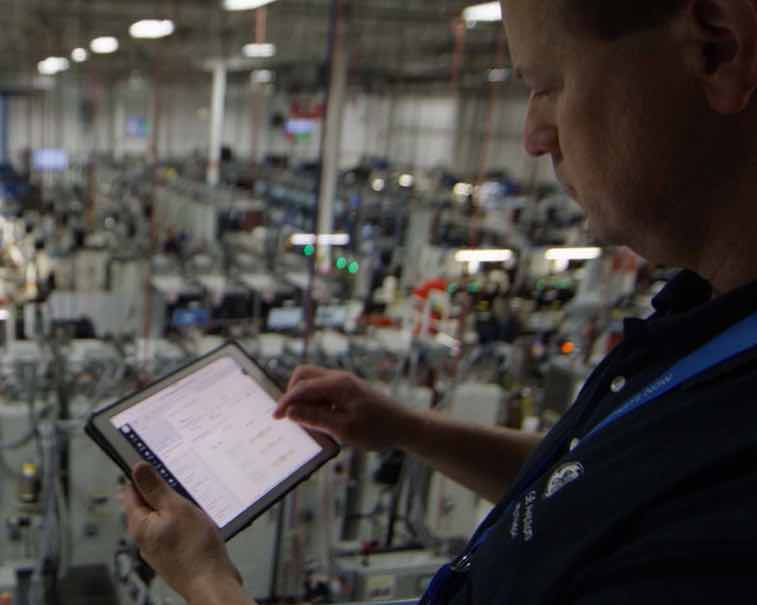 Using GE Digital software to help optimize manufacturing processes