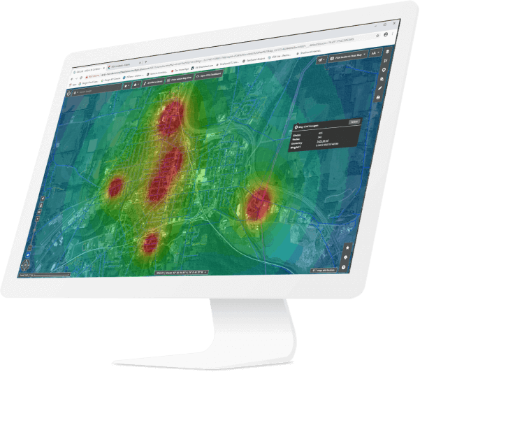 Geospatial Analysis for utilities and telecom software banner | GE Digital