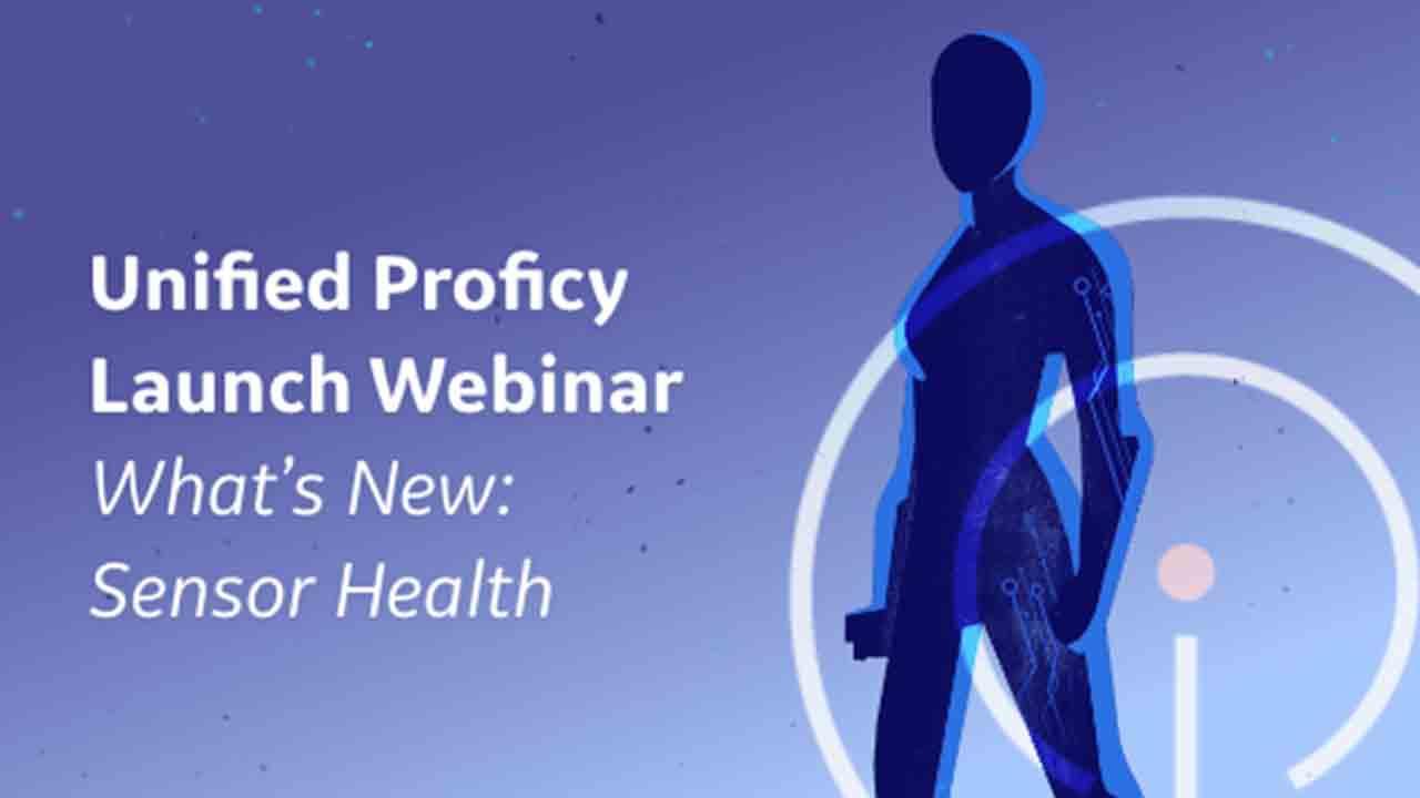 United Proficy Launch: Sensor Health Webinar | GE DIgital