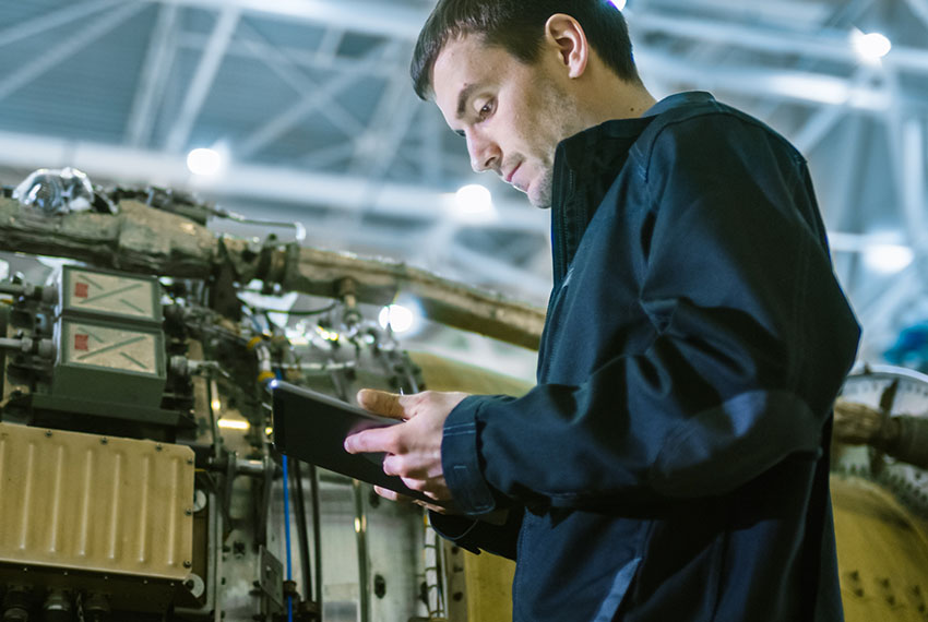 Predictive maintenance using GE Digital software for the Aviation industry