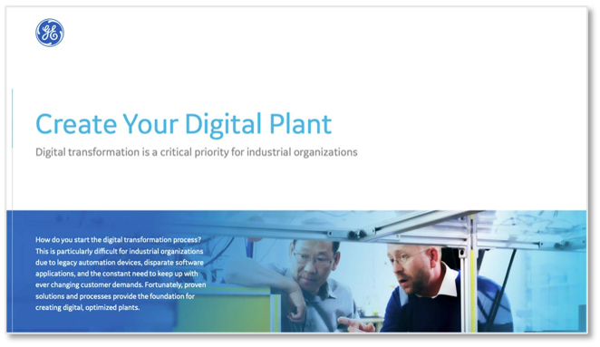 Create your digital plant | MES Webinar | GE Digital