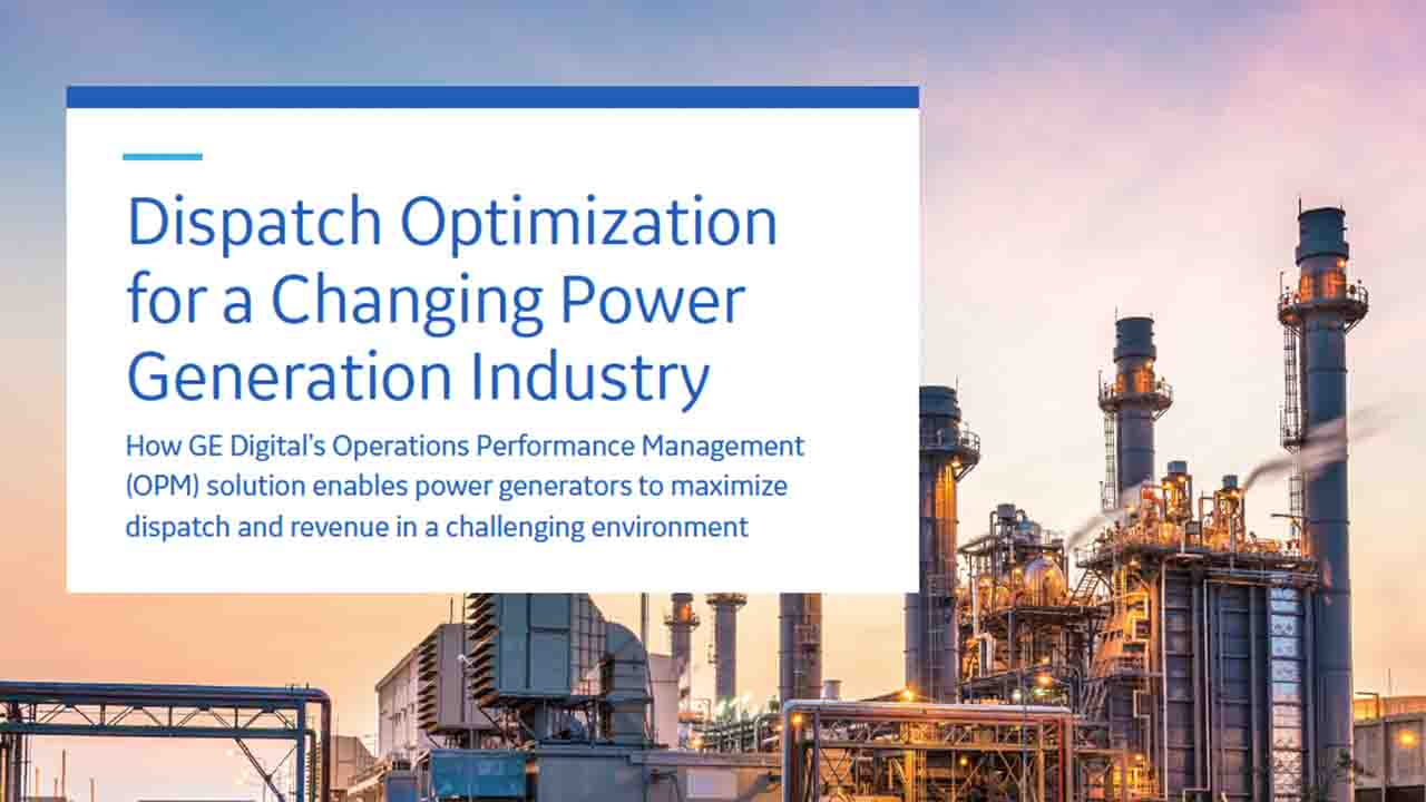 Dispatch Optimization for a Changing Power Generation Industry