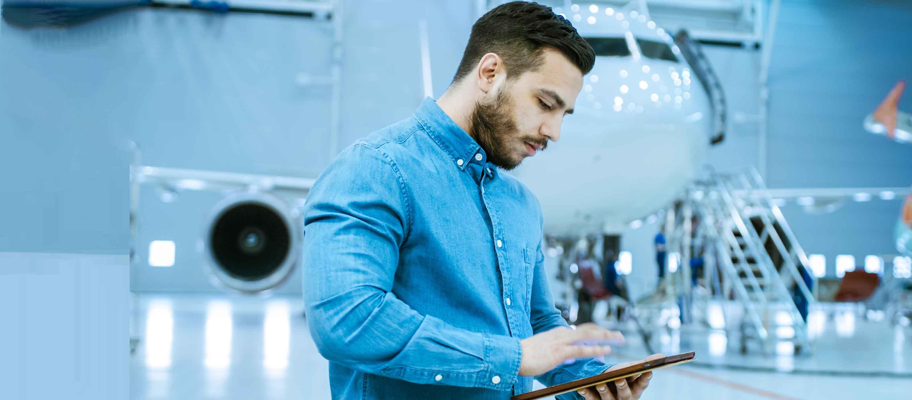Asset Transfer Software | GE Digital | Aviation software | banner