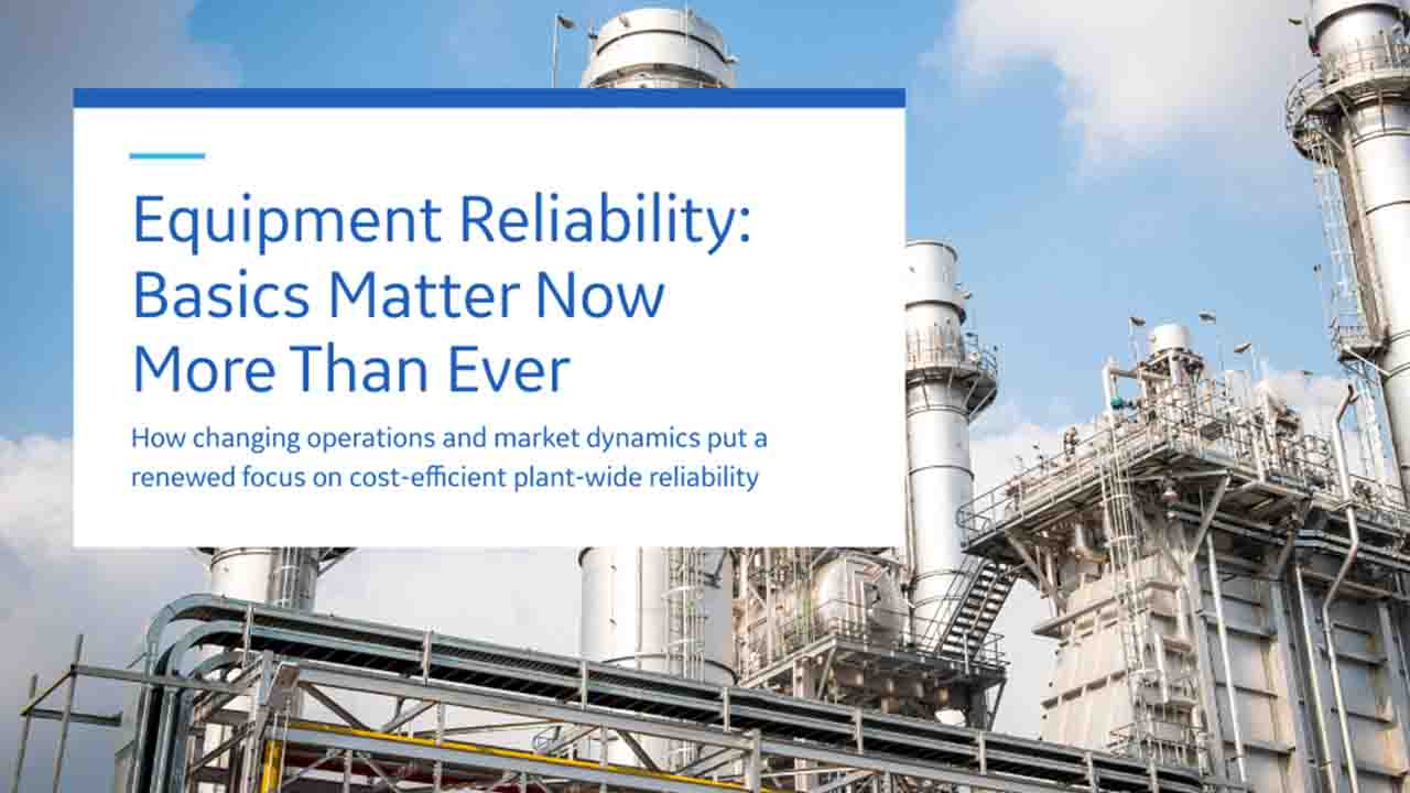 Equipment reliability for Power Generators | GE Digital White Paper
