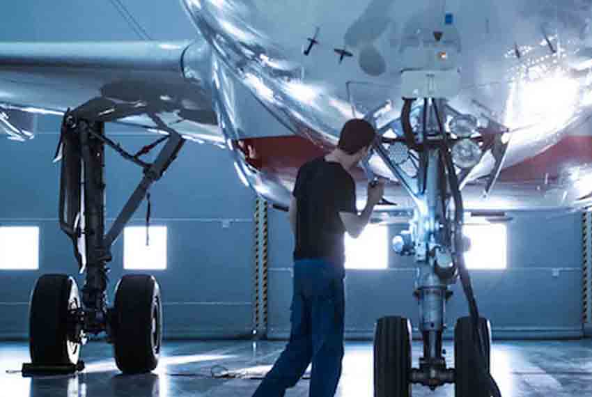Aviation maintenance aided by GE Digital software